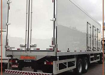 Baú frigorifico usado para truck