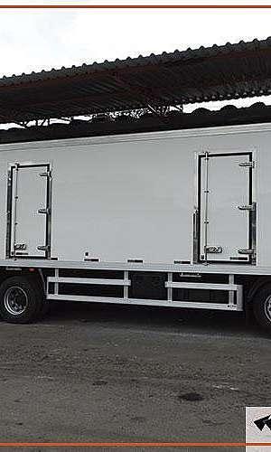 Baú refrigerado para caminhão truck usado