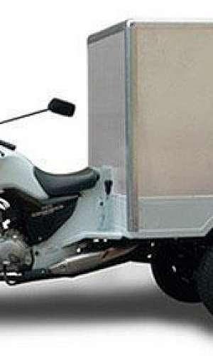 Baú refrigerado para motos