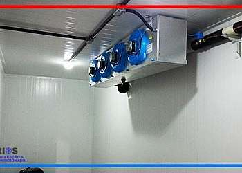 Câmara de refrigeração industrial