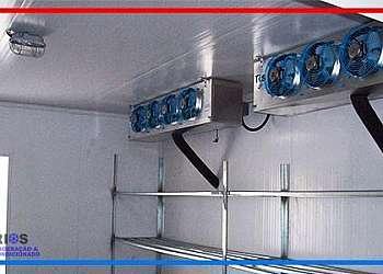 Câmara frigorífica industrial