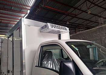 Câmara frigorífica para caminhão