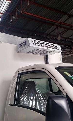 Câmara frigorifica de caminhão