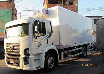 Câmara frigorífica para caminhão truck
