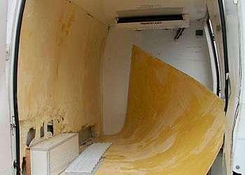 Serviço de conserto em baú frigorífico