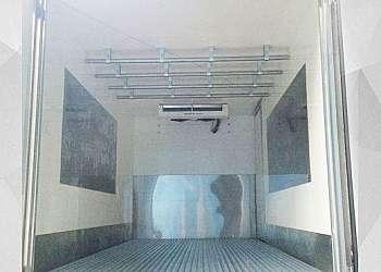 Isolamento térmico para baú de caminhão
