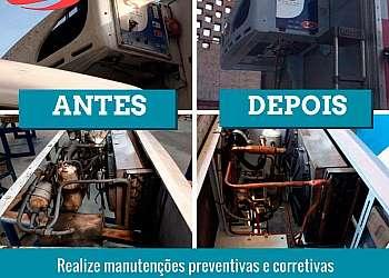 Manutenção de aparelho de refrigeração