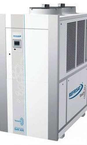 Manutenção preventiva de chiller Refrisat em SP
