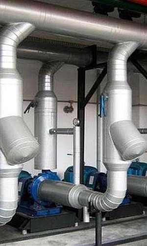 Refrigeração de água industrial