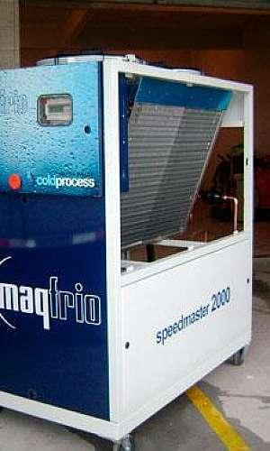 Serviços de refrigeração industrial